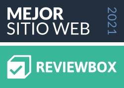 Elegido Mejor Sitio Web 2021